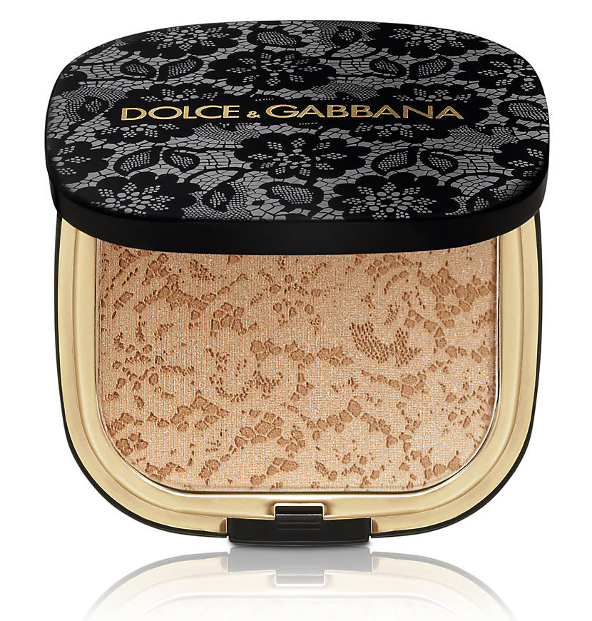 Dolce and Gabbana's Lace Collection Glow Bronzing Powder…too pretty to use!