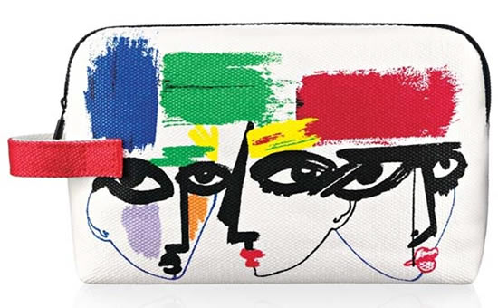MAC collaborates with three illustrators to release limited edition Illustrated Makeup Bags