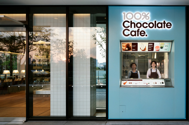 The 100% Chocolate café in Tokyo is 100% Pleasure