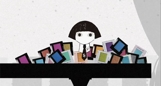 Teaser video marks the debut of Mon Shu Girl: The Karl Largerfeld Shu Uemura mascot