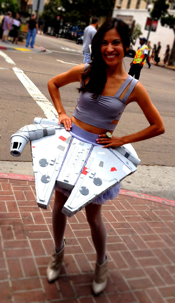 Millenium Falcon Skirt is for the sassy sci-fi chick