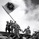 star wars 1 150x150 Artist creates Star Wars recreations of famous photographs with figurines