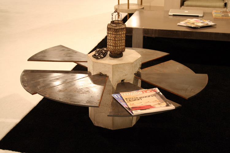 The Steel Fan Coffee Table by James De Wulf