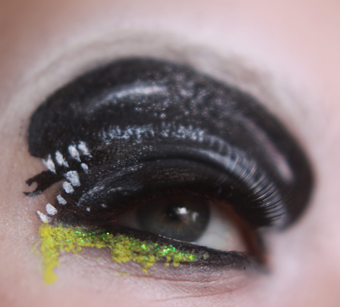 Badass eye makeup inspired by our favorite movies and games