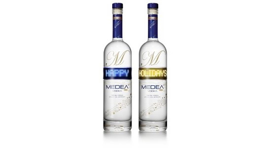 The Medea Vodka Message in a Bottle limited edition: Let the alcohol speak, literally