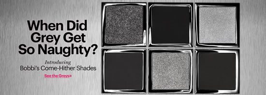 Bobbi Brown's '50 Shades of Grey' Makeup Collection packs only 6 shades