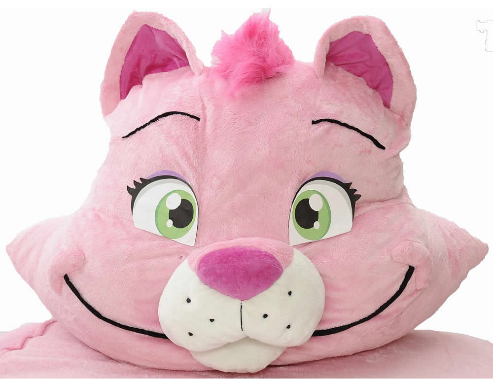 The Incredibeds Pinky Petunia Kitty Cat Twin Bed