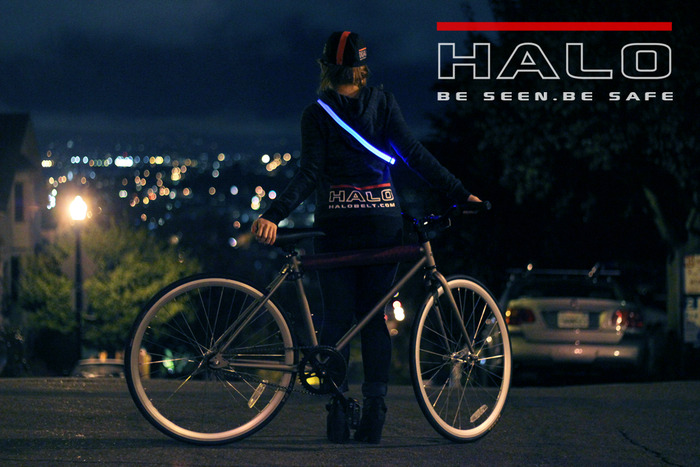 The Halo – Bright Led Belt: Stylish night safety