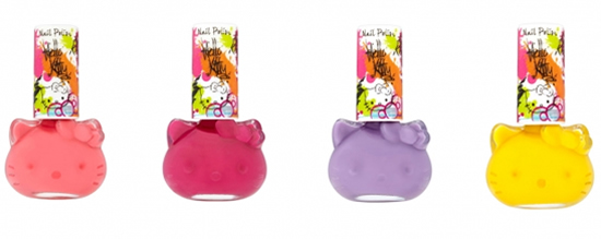 Hello Kitty Nail Polish collection launching soon
