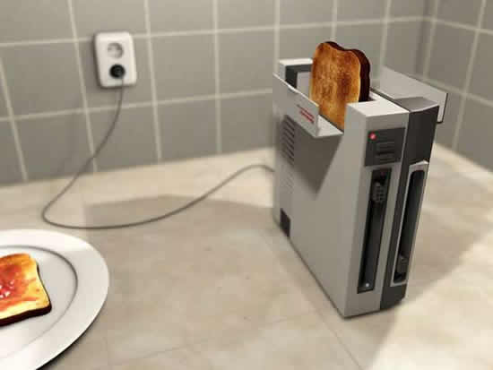 Revamped: Geeky NES Toaster