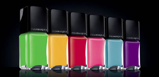 Illamasqua launches Rubber Brights: Their new Limited Edition rubber-finish nail color collection