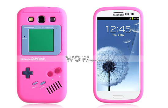 The new Game Boy Series Silicone Rubber Case for Samsung S3: Retro cool