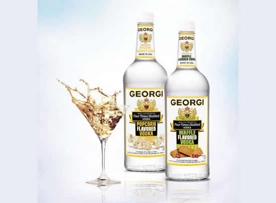 Georgi Waffle Flavored Vodka: Finally a breakfast drink that won't be judged