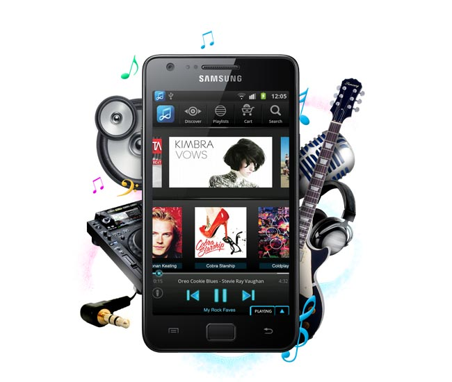 Samsung Galaxy Music Smartphone may launch next month