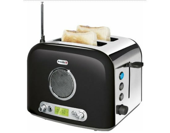 The Breville VTT296 Radio Toaster: Toast tastes so much better with music in the background