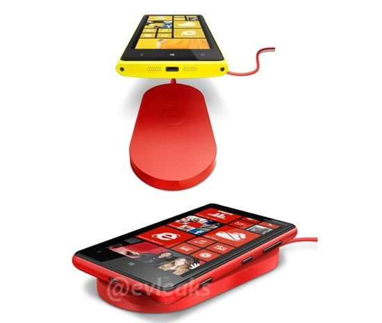 Leaked photos of Nokia Lumia 920 and Lumia 820 show wireless charging