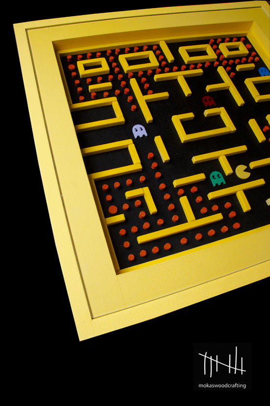 The Pac-man Table: Home Décor for the Gamer Geek