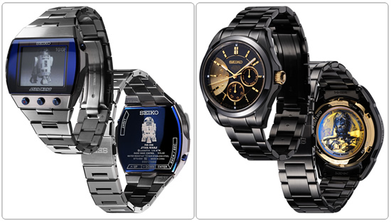 Seiko launches new Star Wars collection of watches