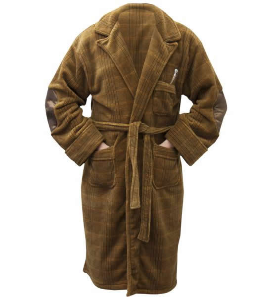 Eye-catchers: Dalek and Dr Who Bathrobes