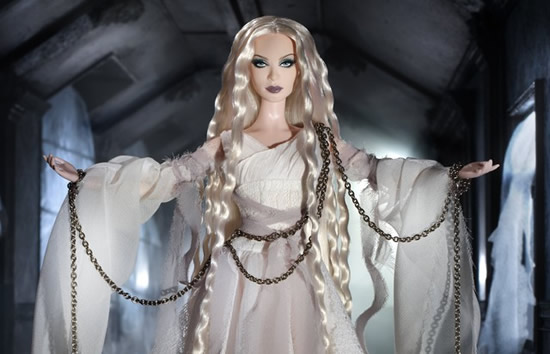 Haunted Beauty Ghost Barbie Doll is apt for Halloween
