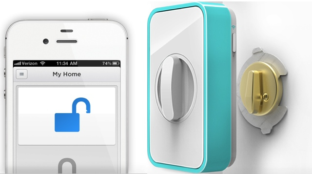 The Lockitron: Lock your door from anywhere in the world via your Smartphone