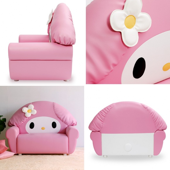 Hello Kitty Sofa: The adorable piece of seat!