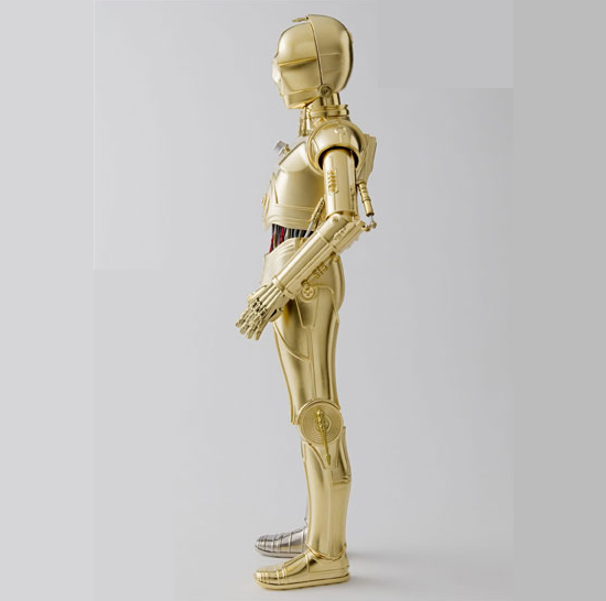 The C-3PO 12″ Perfect Model: It's like fell out of your TV into the living room