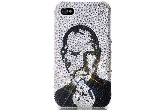Steve Jobs Swarovski Crystal Case for iPhone 5
