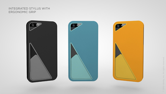Love Quirky's newest case for the iPhone 5 with Stylus