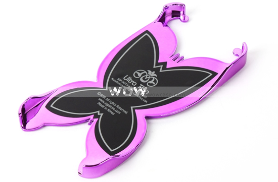 The Butterfly Series Plastic Backside Case For iPhone 5 is beautiful