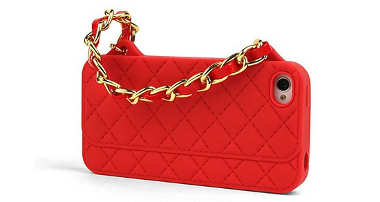 The Chanel Handbag iPhone Cover brings style to the Smartphone