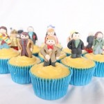 doctor who cupcakes 1 150x150 Doctor Who Cupcakes with all eleven Doctors