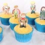 doctor who cupcakes 2 150x150 Doctor Who Cupcakes with all eleven Doctors
