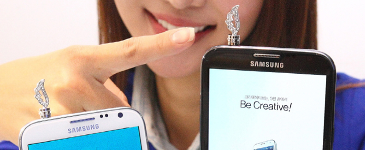 Samsung collaborates with jewelry brand Stonehenge to create limited edition blingy accessories