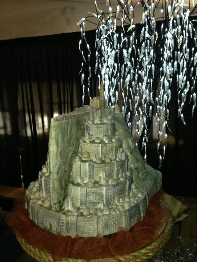 Lord of the Cakes… Minas Tirith Wedding Cake