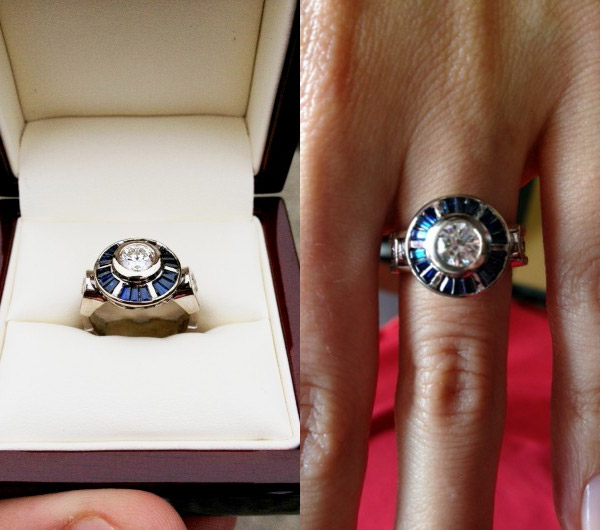 R2D2 Engagement Ring is the perfect Star Wars accessory