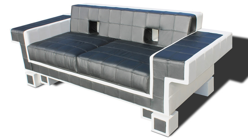 Igor Chak's Space Invader Couch oozes Comfort