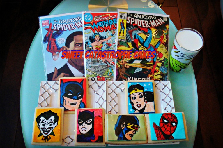 Superhero Cookies: It would take a superpower to resist them