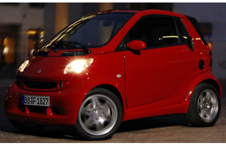 Edition Red via Smart ForTwo