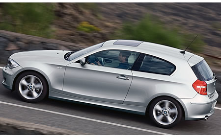BMW 1-Series three-door is fairly modish