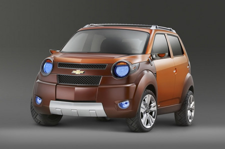 2007 Chevrolet Beat, Groove, and Trax Concepts are welcomed