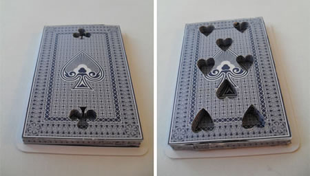 Have fun with these 3D Handmade Playing Cards