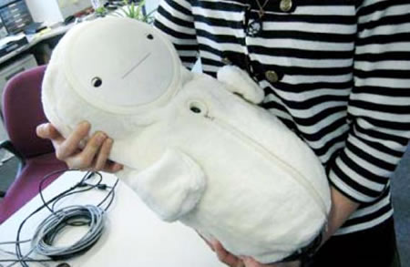 Bablyloid, the Comforting Baby Robot