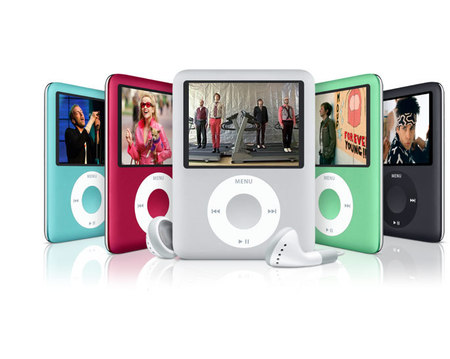 New Apple iPod nano in bewitching colors