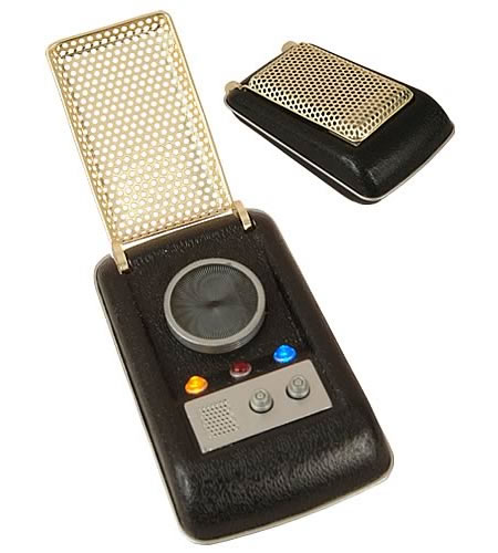 Send your messages through an EE exclusive Star Trek Communicator Replica