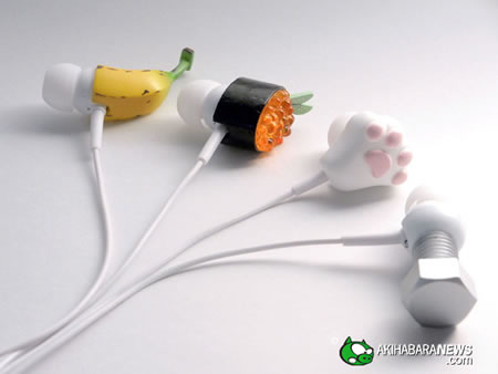 Solid Alliance's New Crazy Earphones  are wacky