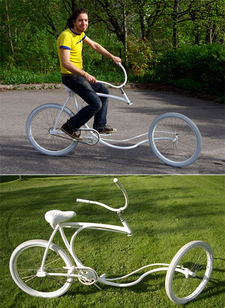 Forkless bike looks unique and innovative