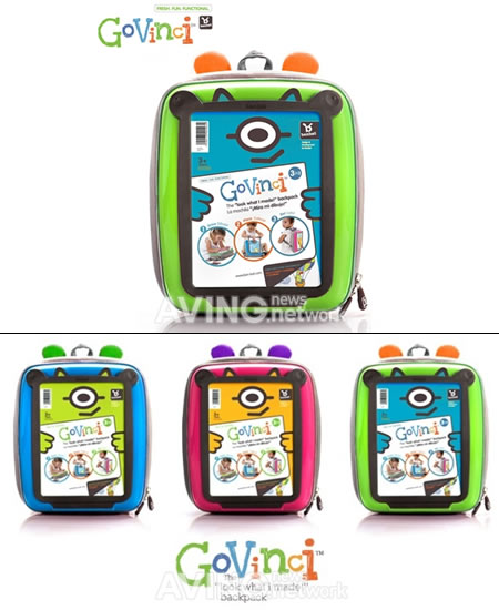 Govinci Backpack brings out the Creativity in your Child
