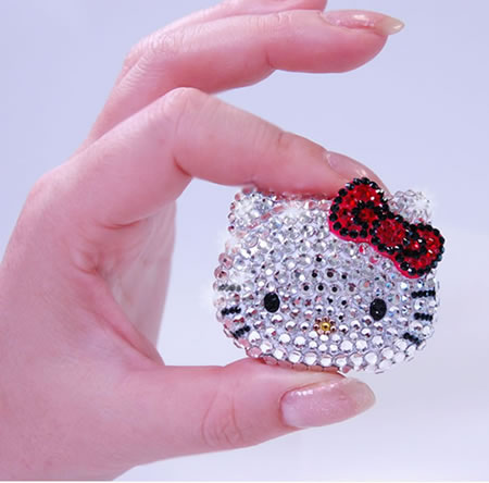 Hello Kitty Swarovski studded music player