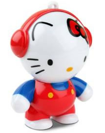 Hello Kitty Headphonies is an adorable portable speaker